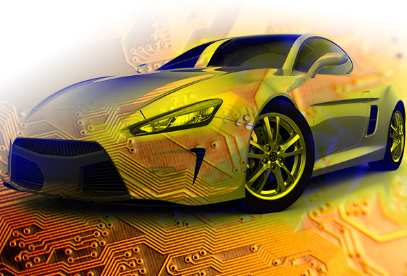 printed circuit boards and cars