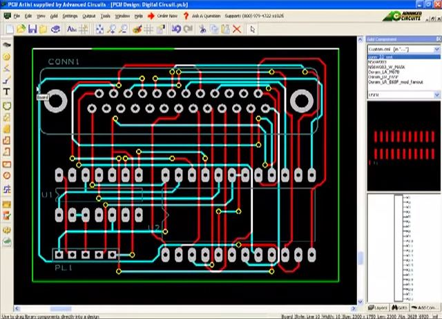 how to use PCB layout software PCB Artist