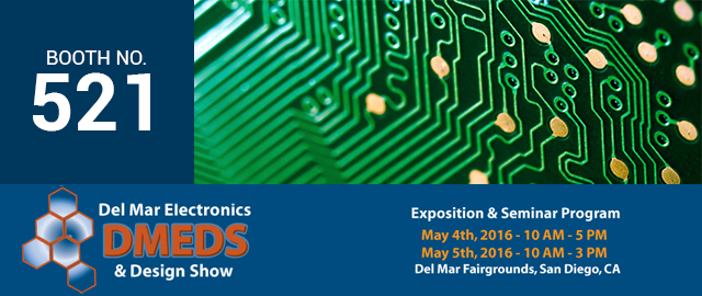PCB Manufacturing - Del Mar Electronics Design Show